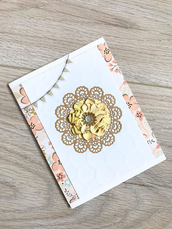 Handmade Card // Simple and Elegant // Any Occasion Card