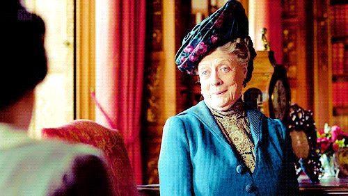 Downton Abbey Lady Violet GIFs | POPSUGAR Entertainment