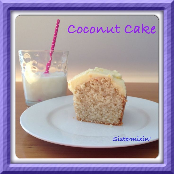 Coconut Cake is the perfect afternoon tea cake, and we love cake at Sistermixin'