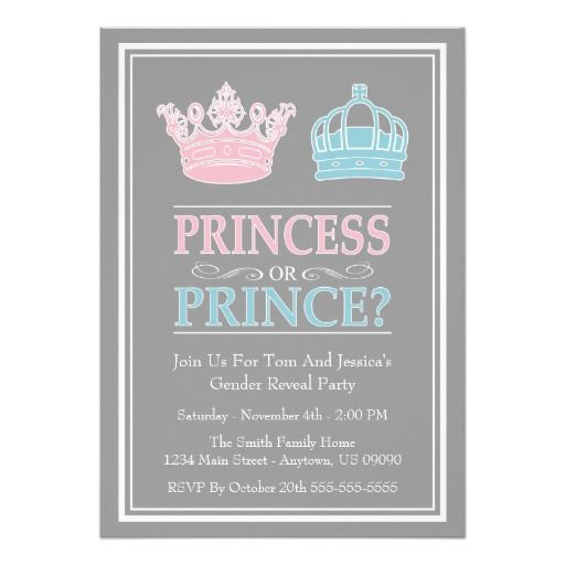 Best 25+ Gender reveal party invitations ideas on Pinterest | Baby ...
