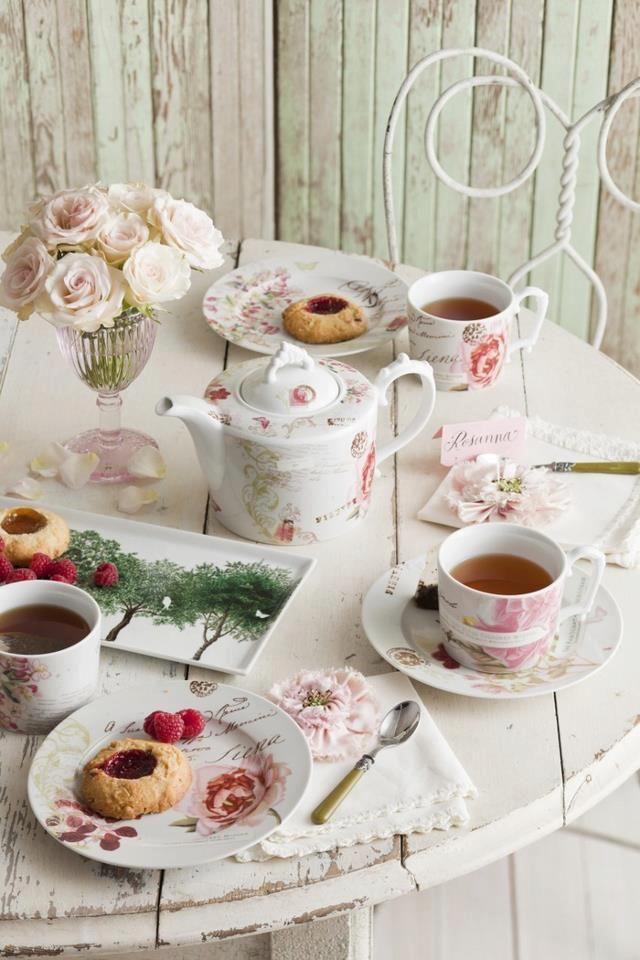 468 Best Tea Party Table Decor Images On Pinterest