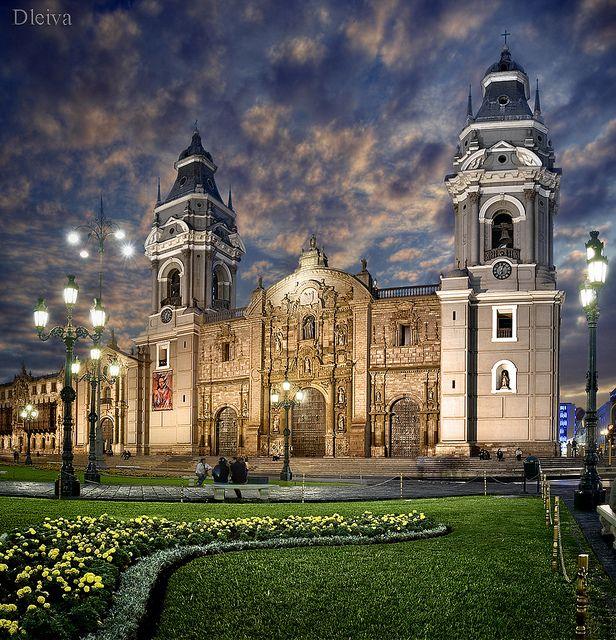 Catedral de Lima /Lima cathedral (Perú) | Flickr: Intercambio de fotos