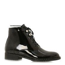 Фото 1 – Ботинки осенние на низком ходу 011857, цвет черный