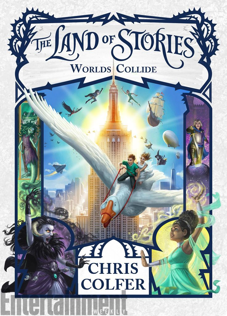 Land of Stories: Worlds Collide by Chris Colfer cover reveal