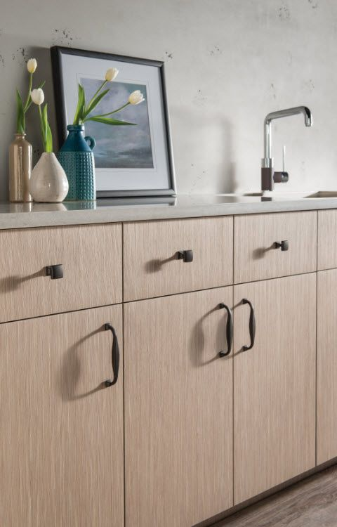 transcend contour knobs and pulls from top knobs in sable finish