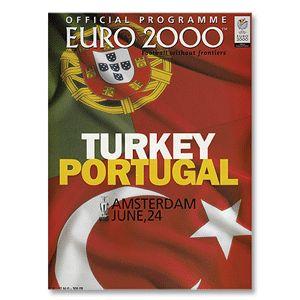 None Turkey vs Portugal - European Championships 2000 Turkey vs Portugal - European Championships 2000 in Amsterdam 24th June 2000 http://www.comparestoreprices.co.uk/football-shirts/none-turkey-vs-portugal--european-championships-2000.asp