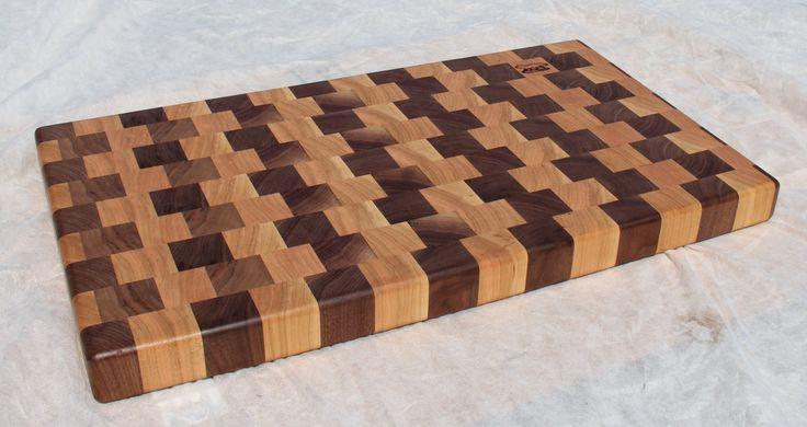 Making Natural Black Cherry Wood Cutting Board