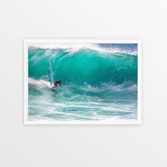 Surf Photography Beach Wall Art Print Ocean Water Surfing