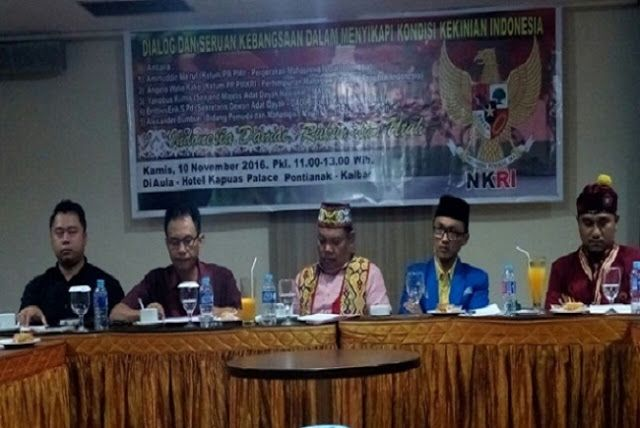 Pimpinan Pusat PMKRI dan PMII Temui Majelis Adat Dayak  #regional #verbivora #daerah