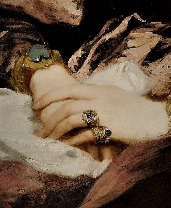 Portrait of Harriet, Countess Howe by Margaret- Sarah Carpenter