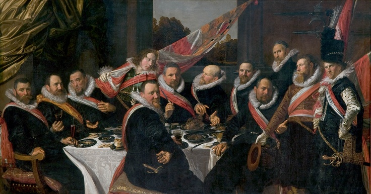 Frans Hals, Haarlem NL, th Officers of St Jorrit. Amazing
