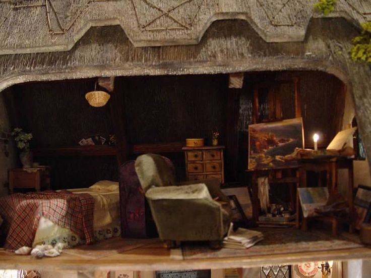 47 Best Images About Dollhouse Thatch Roof On Pinterest