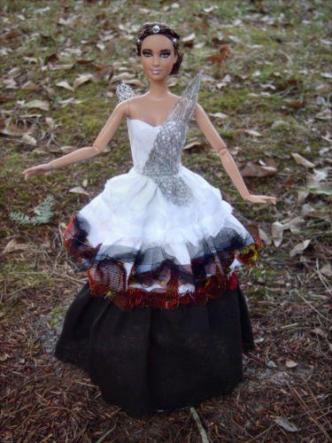 Katniss Everdeen Hunger Games Catching Fire Repaint Restyle Mattel Barbie Doll | eBay