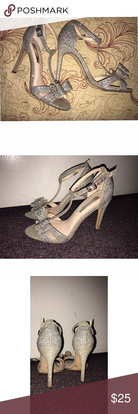 Sparkly bow heels For any special occasion Shoes Heels