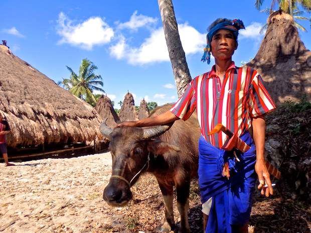 L'île de Sumba en IndonésieIl est encore temps de voyager jusqu'àl'île de Sumba, en Indonésie, avant que le tourisme de masse ne la détruise. À une heure de vol de Bali, le lieu est le foyer de nombreuses traditions : les habitants vivent dans des cases, se déplacent avec des machettes attachées autour de la taille (photo) et pratiquent le sacrifice de buffle. L'idéal est de s'y rendre au moment de la
