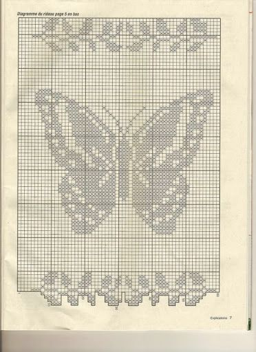 rideau au crochet elena letricotdevero lbumes web de picasa crochet mariposas pinterest. Black Bedroom Furniture Sets. Home Design Ideas