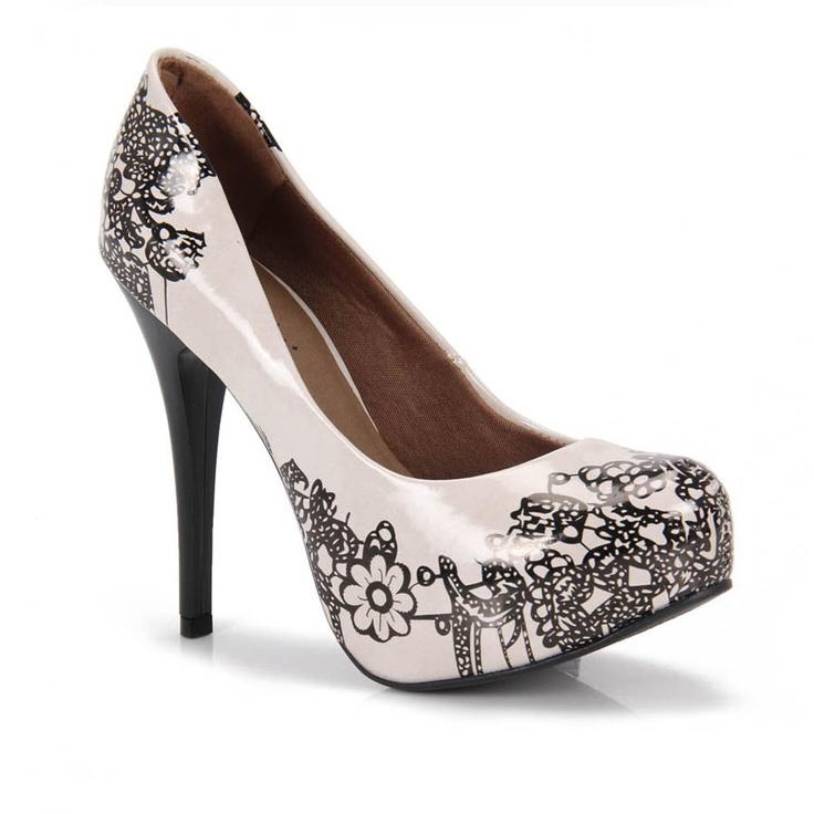 Sapato Feminino Lara Costa 6551513 - Areia - Passarela Calçados - Calçados online