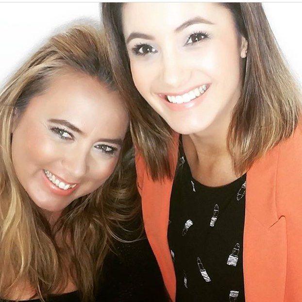 Deze prachtige meiden hebben net een makeupworkshop met ons favoriete merk Luka Cosmetics achter de rug. Met @studiosanja als visagist en @claudia_struijck als blogger/model.  Jullie zijn allebei prachtige vrouwen zowel vanbinnen als vanbuiten!! xxx Eva