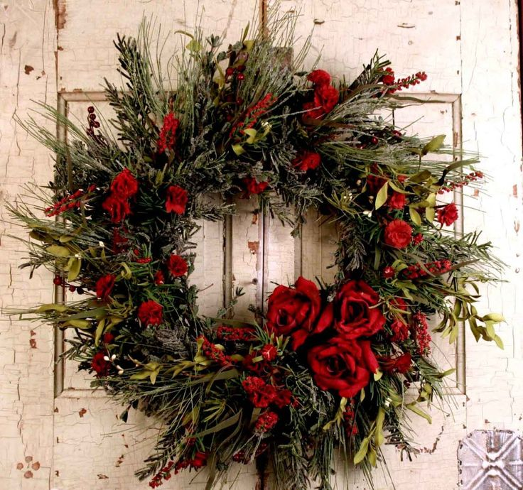 1000 Ideas About Christmas Wreaths On Pinterest Deco