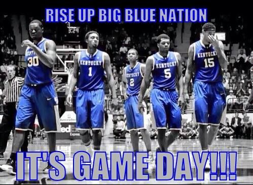 Go Big Blue! Kentucky Wildcats. 2014 NCAA Tournament. Sweet 16.