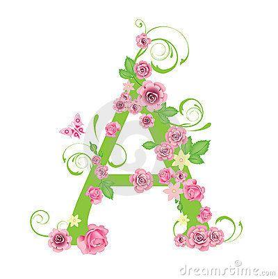 Carta con las rosas