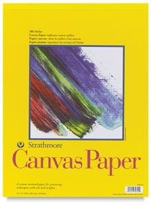 Best Sketchbook for Painting: Canvas Paper