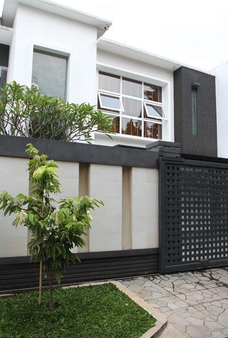 Pagar Melindungi Tanpa Mengurangi Keindahan|Rumah Tanah Dijual,Di Bogor
