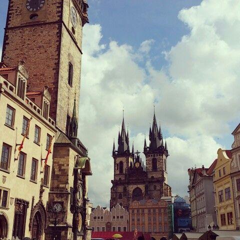 Prague,  Old Square.