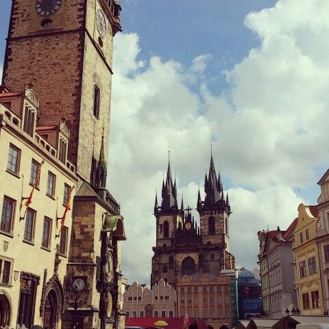 Prague,  Old Square.