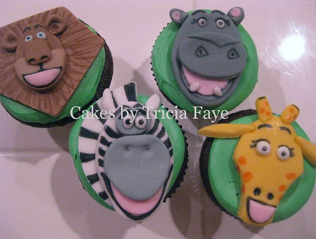 do it yourself baby shower cupcakes | Madagascar Cupcakes « The Cupcake Blog