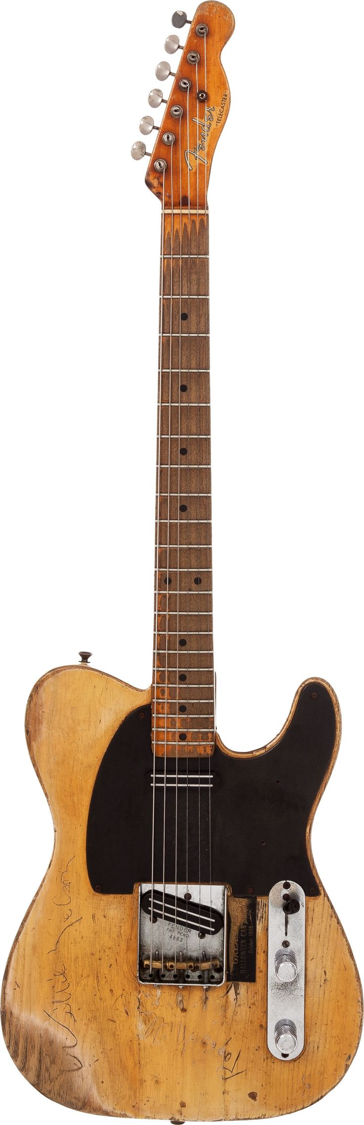 Danny Gatton's 1953 Fender Telecaster Blonde Solid Body | Lot #85127 | Heritage Auctions