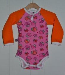 BO007 Body rosa oransje ugler 74