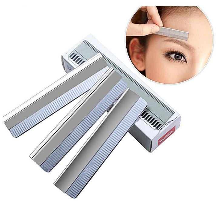 Bittb 10Pcs/set Eyebrow Razor Trimmer Face Hair Remover Bikini Shaver Shaper Trimmer Eye Brow Shaving Trimmers Make Up Tools