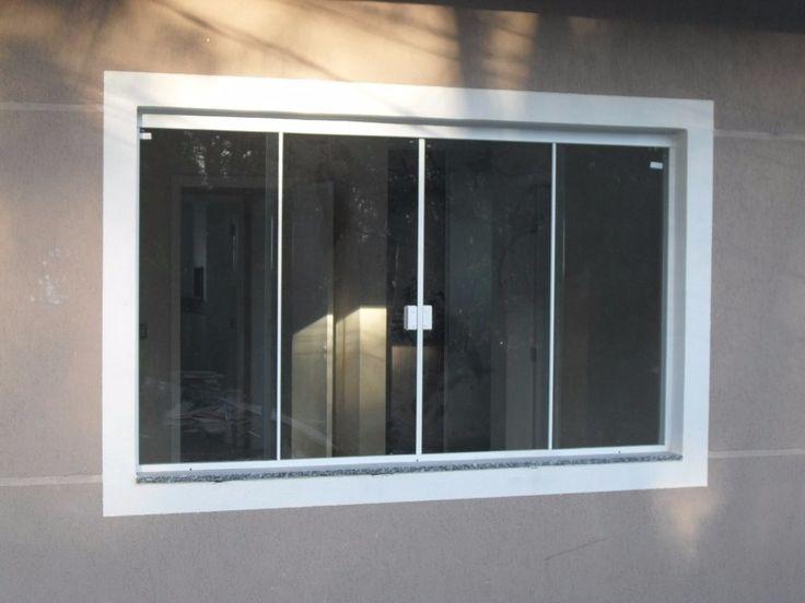 janela blindex vitron 8mm incolor  rj / m2                                                                                                                                                                                 Mais