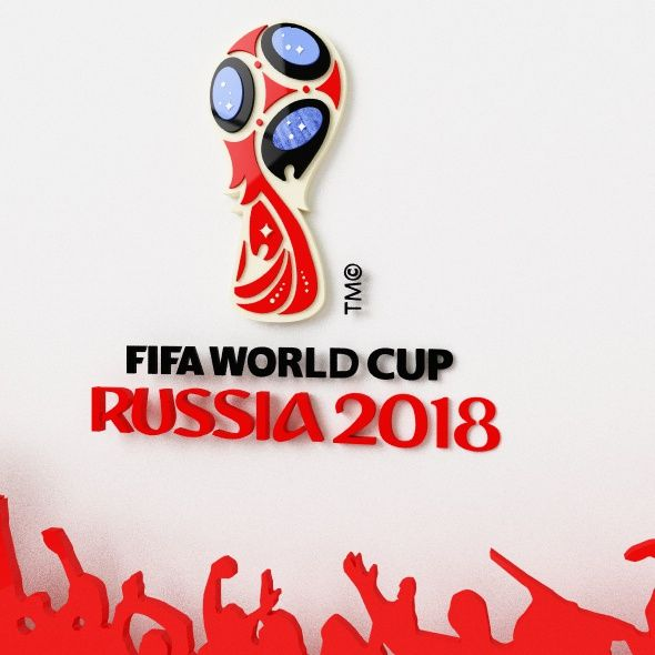 Fifa 2018 World Cup Logo By Calel1975 Fifa 2018 World Cup Logo World Cup Logo World Cup Cup Logo