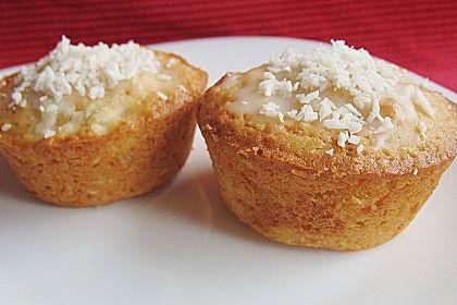 Ananas - Kokos - Muffins Seit Jahren eins meiner Lieblingsrezepte! Kommen bei jeder Party immergut an bei Groß und Klein!