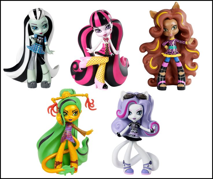 New Monster High Vinyls! Release Date: Unknown