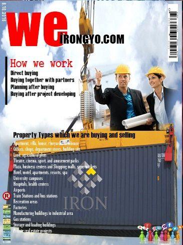 WELCOME TURKEY İRON İNVESTMENT Real estate construction project development purchasing BROKER :ayhan ERDEMİR T-M +905355571798  WhatsApp+90 5355571798  E-mail : Ayhan@irongyo.com İRON ygg A.Ş TURKEY-BULGARİA YOU CAN FOLLOW US SOCİAL MEDİA İNVESTMENT Real .estate.project.development Hello there CLICK ON THE LINKS PROMOTION :  İRON investment in real estate customs CO…………www.irongyo.com CLİCK www.irongyo.com/index.php/hakkimizda/about-us