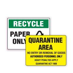 Stop, Recycle, Quarantine