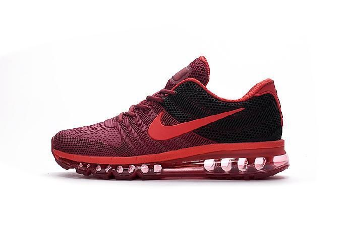 Clearance Nike Air Max 2017 Wine Red Black Sports Running Shoes Online Store - $69.88 - Tap the pin if you love super heroes too! Cause guess what? you will LOVE these super hero fitness shirts!