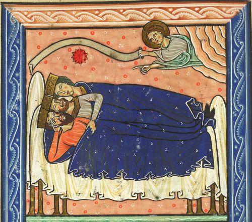 13 magos, Salterio Royal 1 DX (Inglaterra, 1200-1220)