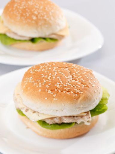 Pains burger maison : Recette de Pains burger maison - Marmiton
