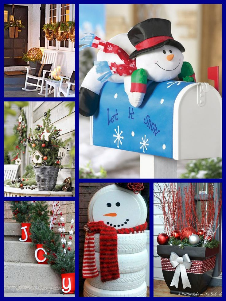 30 diy outdoor christmas decorations ideas 2017 xmas
