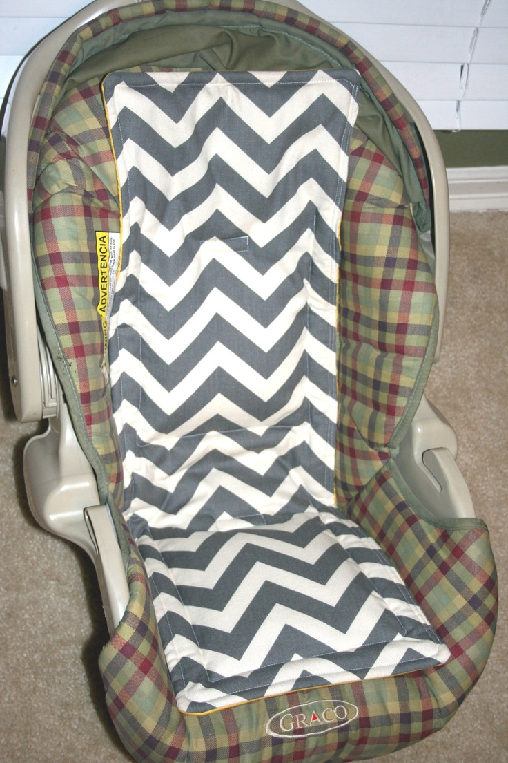 Car seat cooler infant and convertible Carseat cooler Chevron. $35.00, via Etsy.