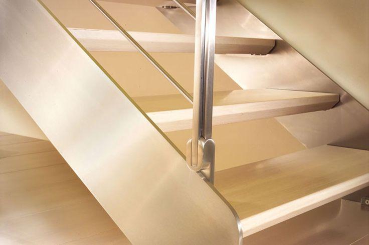 M s de 1000 ideas sobre escaleras de acero inoxidable en - Peldanos de escaleras precios ...