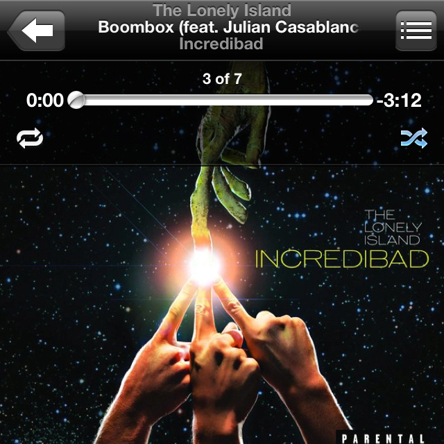 Boombox- The Lonely Island (feat. Julian Casablancas)