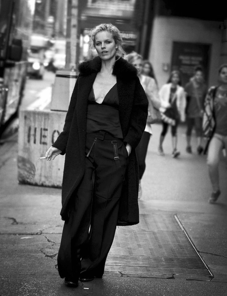 """Walking"" / Vogue Italia October 2016"