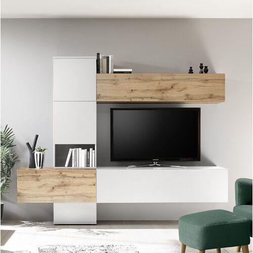 Ebern Designs Fairley Entertainment Unit Wayfair Co Uk Wohnwand Modern Wohnen Wohnwand