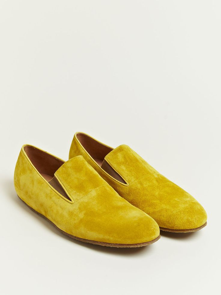 Dries Van Noten Men's Smoking Slippers.  Now I know why my cigs never completely satisfied, no smoking slipppers...