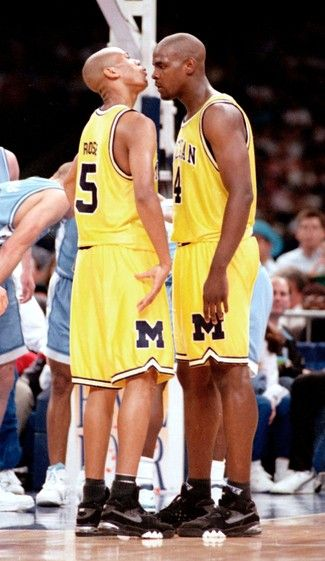 Huge Fab 5 fan growing up. Jalen Rose and Chris Webber, they had swagger.